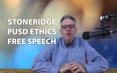 Stoneridge Reaction, PUSD Ethics Drama, JRP0024