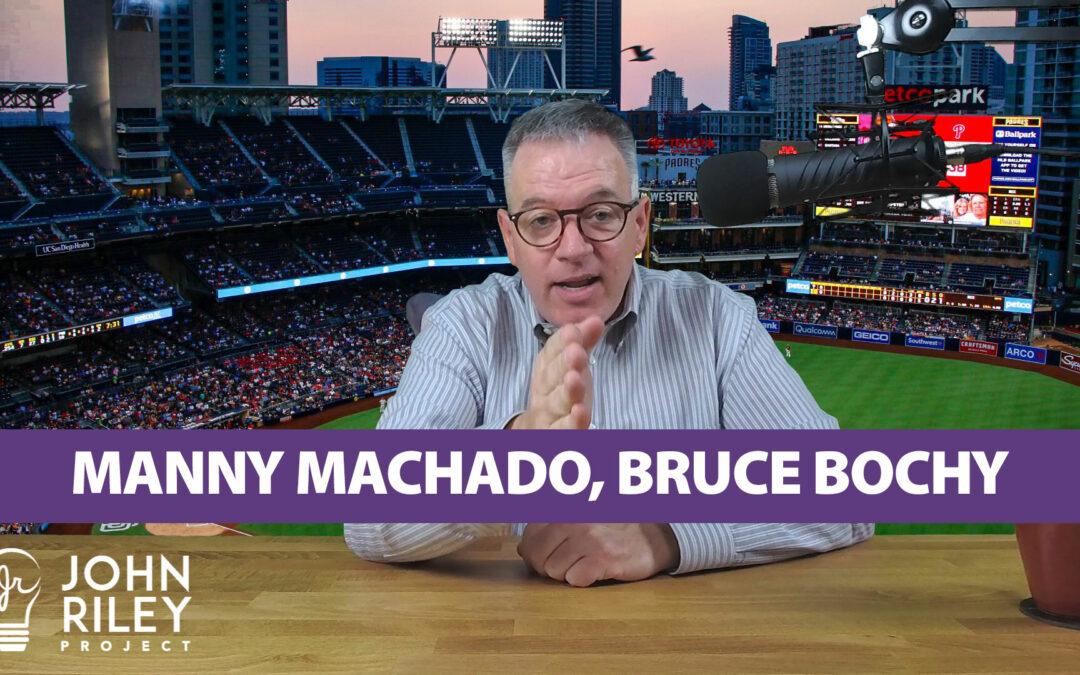 Manny Machado, Bruce Bochy JRP0035