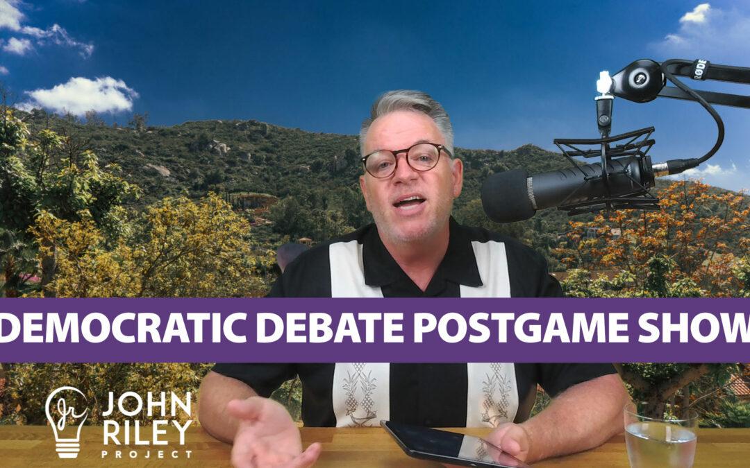 Democratic Debate Post Game Show, JRP0060