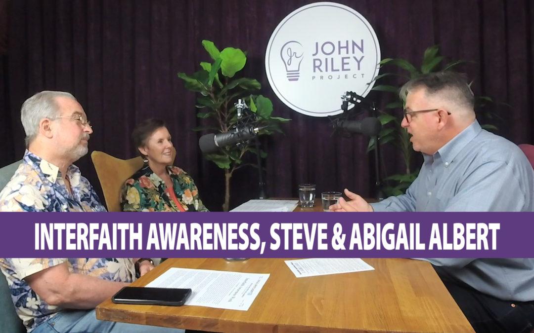 Interfaith Awareness Week in San Diego, Reverend Drs. Stephen and Abigail Albert, JRP0067