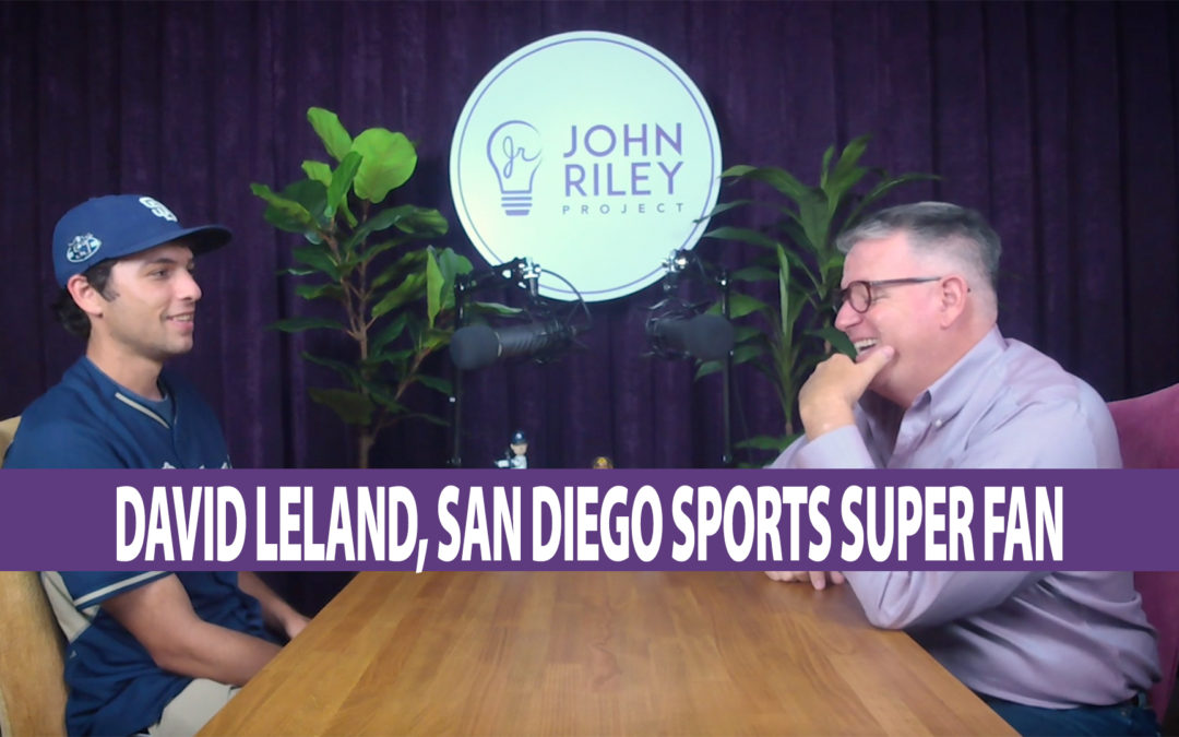 San Diego Sports Super Fan, David Leland, JRP0069